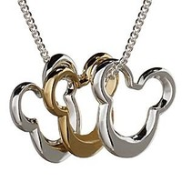 Mickey Mouse Icon Necklace | Disney Store