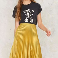 Maison Scotch Golden Years Pleated Skirt