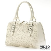Apt. 9 Shira Perforated Satchel