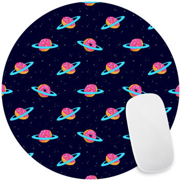 Sugar Rings of Saturn Mouse Pad Decal