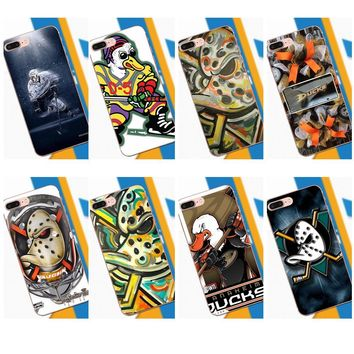 Tpwxnx Hockey Team Nhl Anaheim Ducks For LG G2 G3 mini spirit G4 G5 G6 K4 K7 K8 K10 2017 V10 V20 V30 Rubber Soft Phone Case