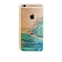 iPhone 6 Plus Case Ocean Wave iPhone 6 Plus Soft Case Surf iPhone 6 Plus Slim Design Case Ocean Sea Nature 1299