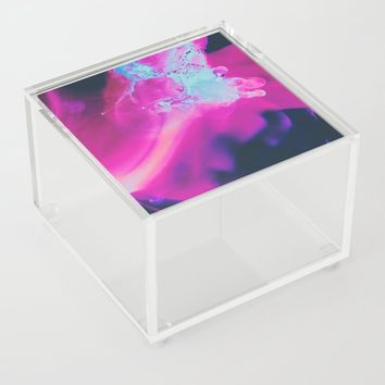 The moon was Ours Acrylic Box by duckyb