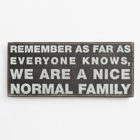 Primitives by Kathy 'Normal Family' Box Sign