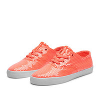 SUPRA WMNS WRAP Shoe | NEON CORAL - WHITE | Official SUPRA Footwear Site
