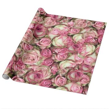 Your Pink Roses Wrapping Paper