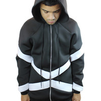 10th Hour - Black/White - Neoprene Jacket