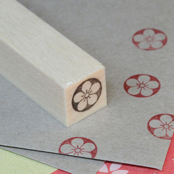 Rubber stamp for your Filofax, Erin Condren life planner, KikkiK , and calendar. Japanese style no.2
