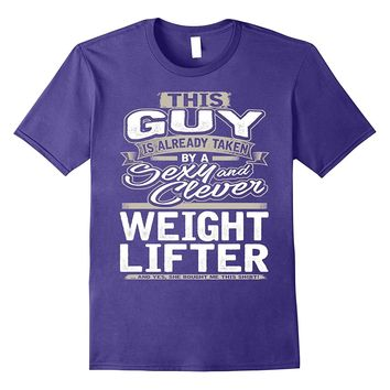 Weightlifter Shirt Gift For Boyfriend Husband Fiance 1