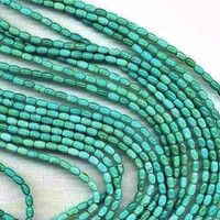 12MM Turquoise  beads - Oval  Beads - Full Strand - Turquoise Gemstone Beads