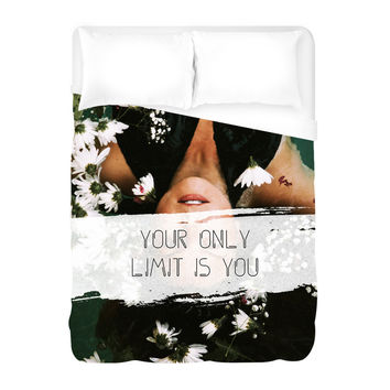 The Only Limit Duvet Cover