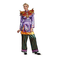 Disguise Women's Alice Asian Look Deluxe Costume, Multi, Medium