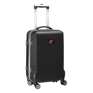 Washington State Cougars Luggage Carry-On  21in Hardcase Spinner 100% ABS