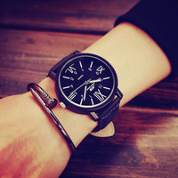 Mens Leather Watch Gift 511