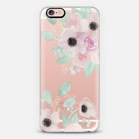 Anemones + Roses iPhone 6s Plus case by quinn luu | Casetify