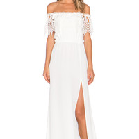 STONE_COLD_FOX Rupp Maxi Dress in White