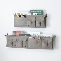 Surplus Wall Shelves (Grey)