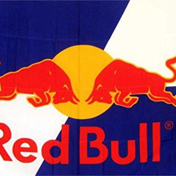 Red Bull Premium Polyester Flag Banner Sign