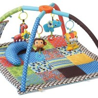 Infantino Twist and Fold Activity Gym, Vintage Boy:Amazon:Baby