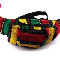 Jamaican Fanny Pack | Rastafarian Fanny Pack for Raves
