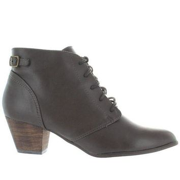 CREYONIG Chelsea Crew Lord - Grey Lace-Up Bootie