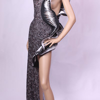 Chrome Collection Sculptured Dress-VIN AND OMI