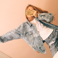 Vintage Guess Jean Jacket Lightwash