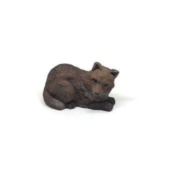 Red Fox Figurine, Dog Figurine Fox Figurine Sleeping Fox Animal and Pet Lovers