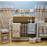 Bacati 10-pc. Mod Sports Crib Set