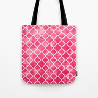 Moroccan Watermelon Tote Bag by All Is One