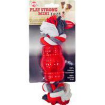Ethical Dog - Play Strong Mini Tugs Chew With Rope Dog Toy
