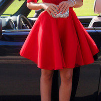Homecoming Dress,Red Lace Half Sleeves Mini Short Prom Dress