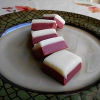 Red Velvet Fudge, 1/2 LB, Homemade