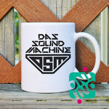 Pitch Perfect 2, Das Sound Machine DSM Coffee Mug, Ceramic Mug, Unique Coffee Mug Gift Coffee