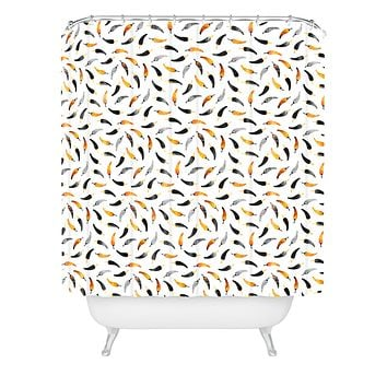 Elisabeth Fredriksson Chili Pattern Shower Curtain