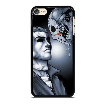 MICHAEL MYERS VS JASON iPod Touch 6 Case Cover