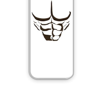 Fake Abs Black - iPhone 5&5s Case