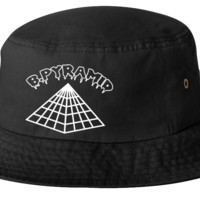 b.pyramid bucket hat