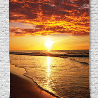 Sunset and Sand Wall Boho Tapestry