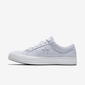 DCCK1IN converse one star plush suede water repellent