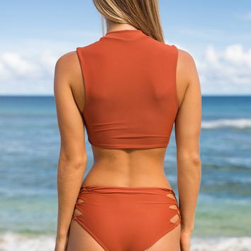 ACACIA Swimwear 2018 Verona Bottom in Mai Tai
