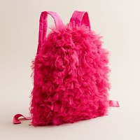 Girl's jewelry & accessories - bags - Girls' tulle-around backpack - J.Crew