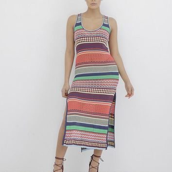 BADGAL MADNESS KNIT MAXI DRESS