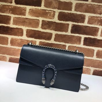 Gucci Dionysus small shoulder bag - dark blue