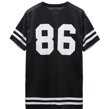 Civil - Lindsay Lohan Team Civil 86 Mesh Jersey - Mens Tee - Black