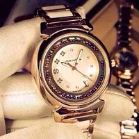 LV Louis Vuitton Stylish Ladies Men Elegant Business Watches Wrist Watch White I-YF-GZYFBY