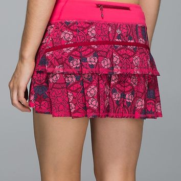 run: pace setter skirt (regular) | women's skirts and dresses | lululemon athletica