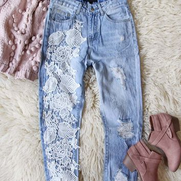 Addy Lace Jeans