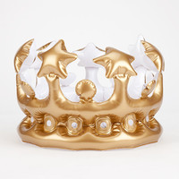 NPW King For the Day Inflatable Crown   Toys & Novelties