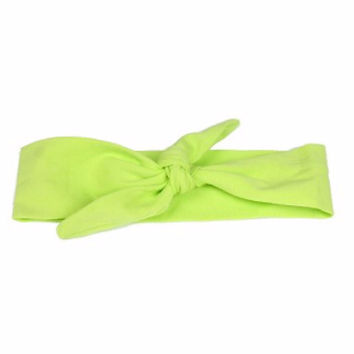 Lime Knotted Headband